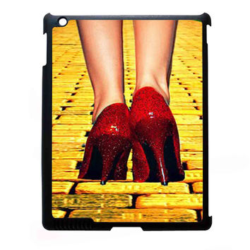 Yellow Brick Road Dorothy Wizard of Oz Inspired Cute Ruby Red FOR IPAD 2/3/4 CASE *NP*