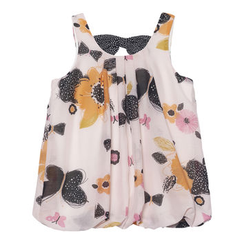 Deux Par Deux Miss Butterfly Balloon Tunic Size 2-12 Years