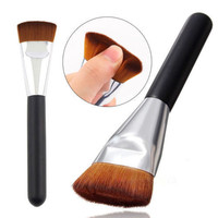 Professional Flat Contour Brush Face Cheeks Blend Makeup Cosmetic Brusher Tool