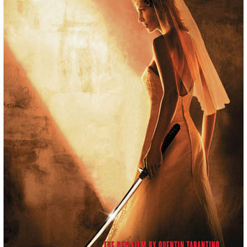 Kill Bill Vol 2 The Bride Uma Thurman Poster 11x17