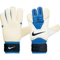 Nike GK Grip3 Soccer Goalie Gloves - Blue/White - Dick's Sporting Goods
