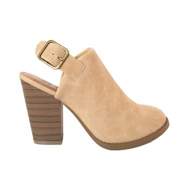 One of A Kind Ankle Boot In Tan