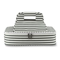 Casserole & Lasagna Carrier, Black & White