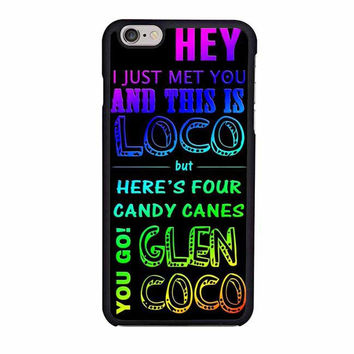 glen coco mean girls inspired poster rainbow iphone 6 6s 4 4s 5 5s 6 plus cases