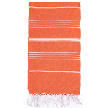 Turkish-T - Beach Towel | Orange