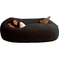 Walmart: XXL 7' Fuf Comfort Suede Bean Bag, Multiple Colors
