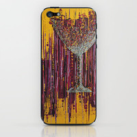 :: Afternoon Wine :: iPhone & iPod Skin by GaleStorm Artworks | Society6