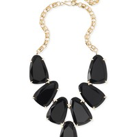 Harlow Statement Necklace In Black