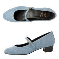American Apparel - Mary Jane Pump Denim Shoe