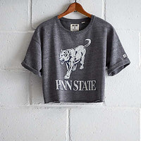 Tailgate PSU Cropped Sweatshirt, Charcoal