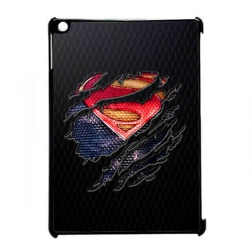 Clark kent Ripped Torn cloth for iPad Air CASE *07*
