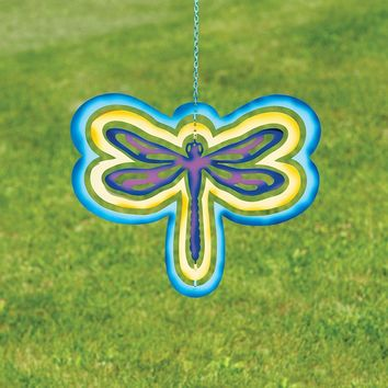 Multicolor Cutout Dragonfly Hanging Ornament - New item! Pre-order for August!