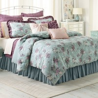 LC Lauren Conrad Bouquet Comforter Set