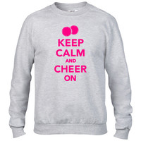 Keep calm and Cheer on1 Crewneck sweatshirt