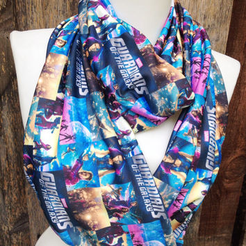 Guardians of the Galaxy Scarf, Comic Con, Cosplay, infinity Scarf, outer space, Geek, marvel comics, Woman's Scarf, Teen