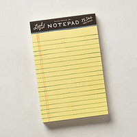Legal Notepad