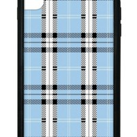 Blue Plaid iPhone Xs Max Case