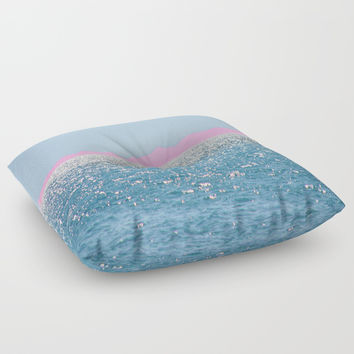 i Sea you Floor Pillow by Azima