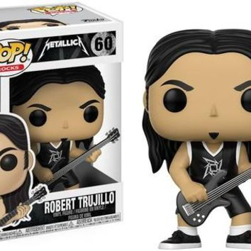 Funko POP! Rocks: Metallica - Robert Trujillo