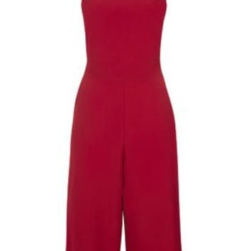 **Culotte Jumpsuit by Wal G - Wine