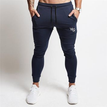 2017 New Gyms clothing in men pants men fashion Jogger Pants Skinny casual trousers pants top quality sweatpants