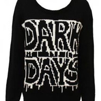Gloom and Doom Jumper by Evil Twin