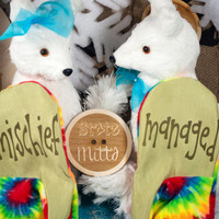 State Mitts - Mischeif Managed - Harry Potter Inspired - Whimsically Fun Mittens-Stick 'em up and make a Statement
