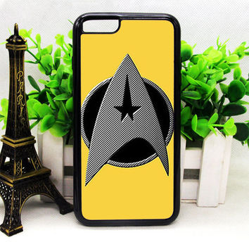 GOLD STAR TREK LOGO IPHONE 6 | 6 PLUS | 6S | 6S PLUS CASES