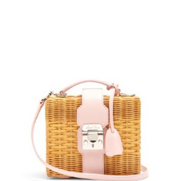 Harley rattan and leather cross-body bag | Mark Cross | MATCHESFASHION.COM US