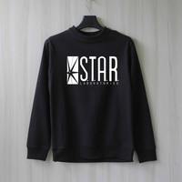 Star Laboratories Shirt Star Labs Sweatshirt Sweater Shirt – Size XS S M L XL