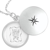 wish fulfillment amulet round locket necklace