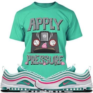 Air Max 97 South Beach Sneaker Tees Shirts - PRESSURE