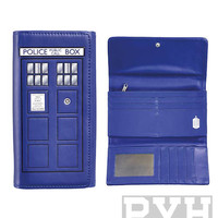 Doctor Who Tardis Ladies Wallet
