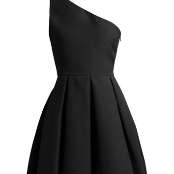 One-shoulder skater dress | Valentino | MATCHESFASHION.COM US