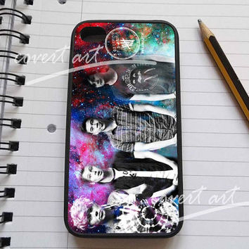 5 Seconds Of Summer Collage in galaxy for iPhone 4 / 4S / 5 Case Samsung Galaxy S3 / S4 Case