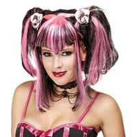 Buy Black and Pink Bad Fairy Adult Halloween Wig in Cheap Price on Alibaba.com