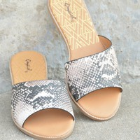 Echos In The Night Sandals - Python
