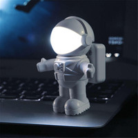 Cool Spaceman Astronaut LED Flexible USB Light for Laptop PC Notebook