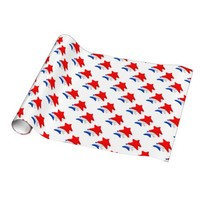 Team America Gift Wrap Paper