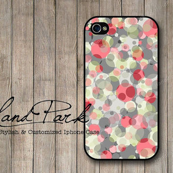 Polka Dot Design iPhone 4 Case, iPhone 4s Case, iPhone Case, iPhone hard Case