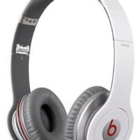 Beats Solo HD by Dr. Dre High Performance On-Ear Headphones - White