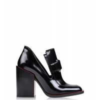 Jil Sander Cut Out Ankle Boots - High Heel Boots - ShopBAZAAR