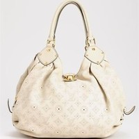 Louis Vuitton LU Genuine Leather Mahina Monogram Hobo Bag - Louis Vuitton Handbags - Modnique.com