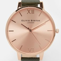 Olivia Burton Khaki Big Dial Watch