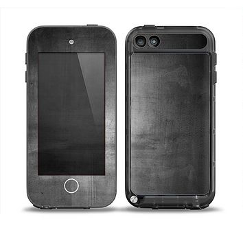 The Grungy Gray Panel Skin for the iPod Touch 5th Generation frē LifeProof Case
