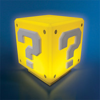Mario Mini Question Block Light