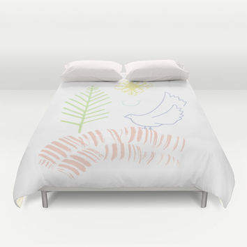 Out in Nature Duvet Cover by Ariel Lark | Society6