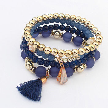 Great Deal Shiny New Arrival Hot Sale Awesome Gift Set Tassels Stylish Bracelet [6044171969]