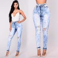 Bunny Stretch Ripped Jeans