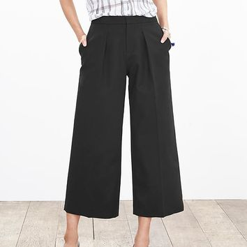 Banana Republic Womens Pleated Gaucho Pant